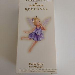Hallmark Pansy Fairy